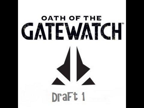 OGW Oath of the Gatewatch Draft MTGO Magic The Gathering Draft 1 Draft Portion