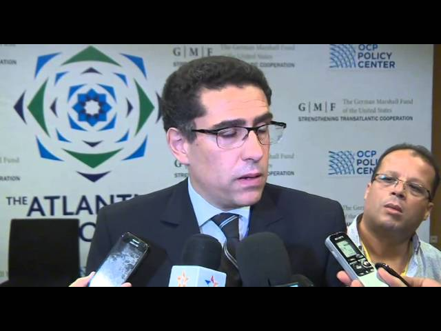 Interview Dr Karim El Aynaoui, Organisateur de Dialogues de l'Atlantique
