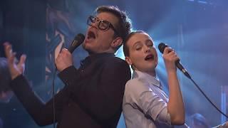 Píseň Já půjdu tam a ty tam - zpěv A. Fialová a D. Kraus - Show Jana Krause 22. 3. 2017
