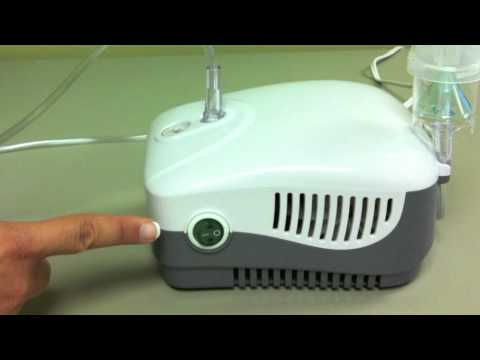 Medquip : How to use a nebulizer