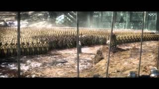 Dain arrives to battle (full HD)