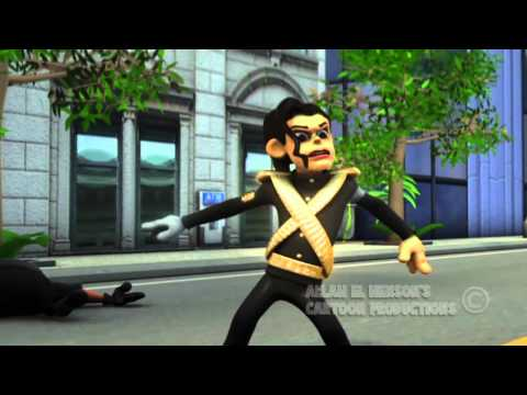 BAD 3D CARTOON VERSION MICHAEL JACKSON