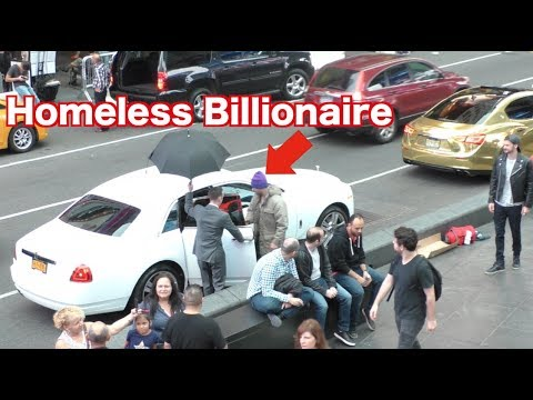The Homeless Billionaire Prank