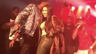 Meek Mill Tells Nicki Minaj To Back That Ass Up Like Juvenile Makes Her Twerk At Concert
