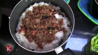 Shirazi Polo | Persian Food | شیرازی پلو