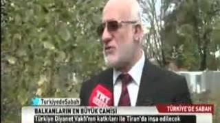 Balkanların  En Büyük Cami'sini Diyanet Vakfı İnşa Edecek.