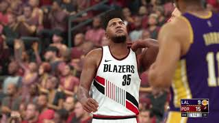 2021-2022 Lakers vs Blazers