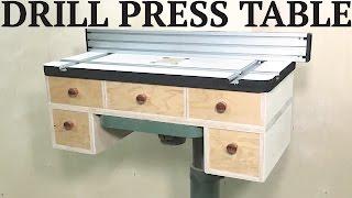 Best Drill Press Table