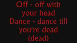Heads Will Roll - Yeah Yeah Yeahs (lyrics)