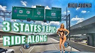 3 STATES 1 EPIC RIDE ALONG (HELLA RANDOM)