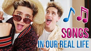 SONGS IN REAL LIFE (by Martinez Twins)