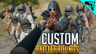 CUSTOM ZOMBIES! - Battlegrounds Gameplay LIVE