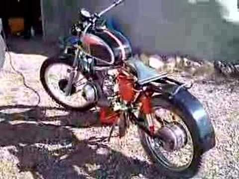 72 Jawa diesel motorcycle