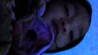 Baby video taped herself while mom's asleep