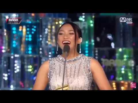 Xxx Mp4 MARION JOLA Menang Best New Asian Artis Di MAMA 2018 KOREA 3gp Sex