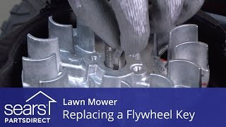 Replacing the Flywheel Key on a Lawn Mower