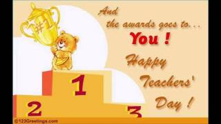 Happy Teachers Day 2015 Wishes Greetings Video Song MP4 3GP HD Download