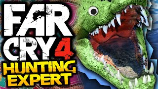 Far Cry 4: Hunting Expert! - #4 - CROCODILES! - (FC4 Funny Moments)