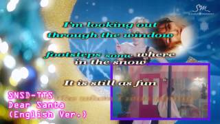 TTS Dear Santa English Ver(Karaoke Instrumental )
