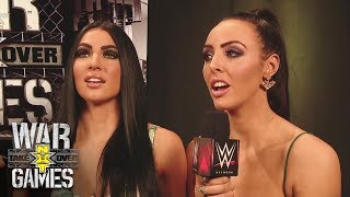 Billie Kay and Peyton Royce play a game of word association: NXT TakeOver: WarGames Pre-Show