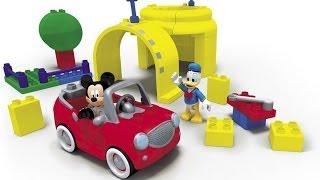 ✿ Мультик Лего - Клуб Микки Мауса - Паровозик Чуф Чуф (обучающие развивающие мультфильмы)