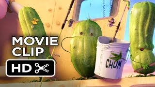 Cloudy with a Chance of Meatballs 2 Movie CLIP - Singing With Pickles (2013) HD