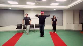 Dilbagh Singh: Urban Chhori dance cover by Sagar and Pranay - practice session