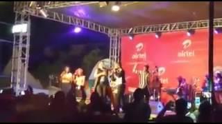 Eddy Kenzo & Rema Performing Linda In Jinja
