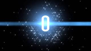 10 Sec Countdown Space Animation Royalty Free Video Effect Footage AA VFX