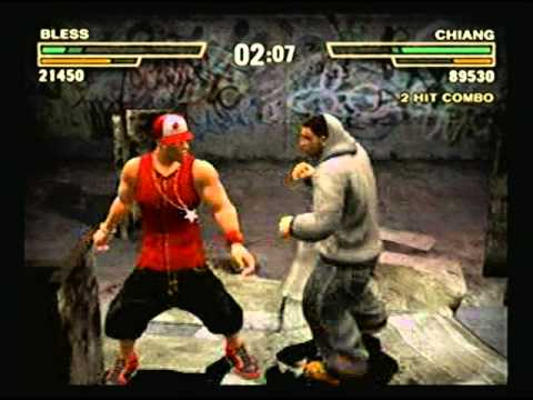 Def Jam Fight for NY Bless vs Chiang Silent Match