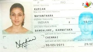 Police action on Nayanthara passport leaked on Whatsapp | Hot Tamil Cinema News