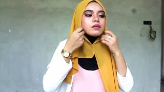 tutorial instant shawl by the zn wedding couture