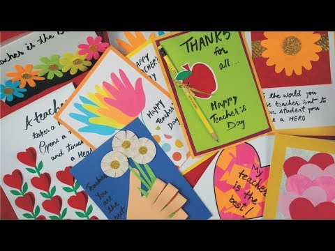 Xxx Mp4 DIY Teacher S Day Card Handmade Teachers Day Card Making Idea Greeting Card For Teacher S Day 3gp Sex