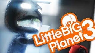 Little Big Planet 3 - GHOSTS ARE HAUNTING ME! - LittleBigPlanet 3 Multiplayer
