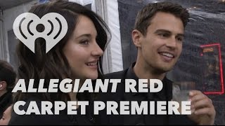 Allegiant Movie Premiere - Red Carpet Interviews