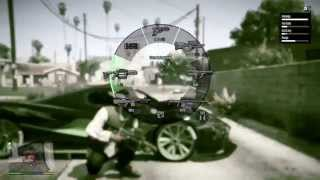 GTA 5 Gang War: Franklin vs Ballas