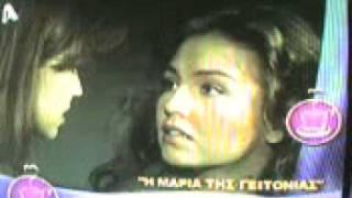 Thalia Eleni Menegaki Greece Alpha tv part 1