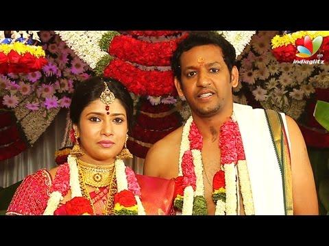 Actress Sanghavi weds IT professional N Venkatesh | Marriage Video