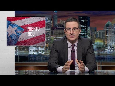 Last Week Tonight with John Oliver Puerto Rico HBO