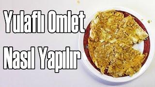 Yulaflı Omlet Tarifi | En Pratik Kahvaltı | How To Make Oatmeal Omelet