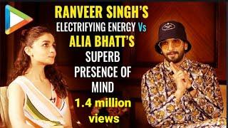 Ranveer Singh & Alia Bhatt's WITTIEST QUIZ EVER – Romantically Yours   Gully Boy