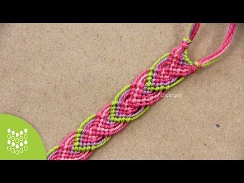 Macramé Leaves Friendship Bracelet