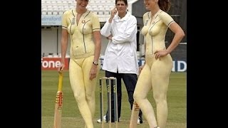 OMG Two Women's Worst Bloopers Cricket Stadium