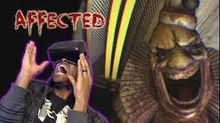 TERRIFYING CLOWN | Affected Carnival DK2 OCULUS RIFT HORROR GAME