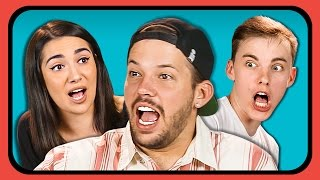 YOUTUBERS REACT TO BOW WOW CHALLENGE (#BowWowChallenge)