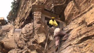 The dangers of Debre Damo monastery (Ethiopia)