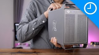 Hands-on: Akitio Thunder3 Quad X - Thunderbolt 3 storage with classic Mac Pro design