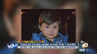 Child, 3, left alone at home for 7 hours