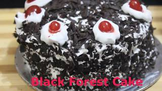 Black Forest Cake/Tasty/Yummy/Kids Special Cake/Recipe in Hindi.