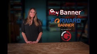 Key Banner and Forward Banner -  Exclusively at Grimco